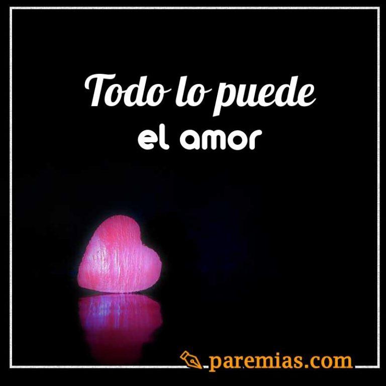 Todo lo puede el amor